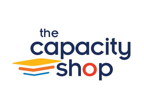 the capacity shop logo option