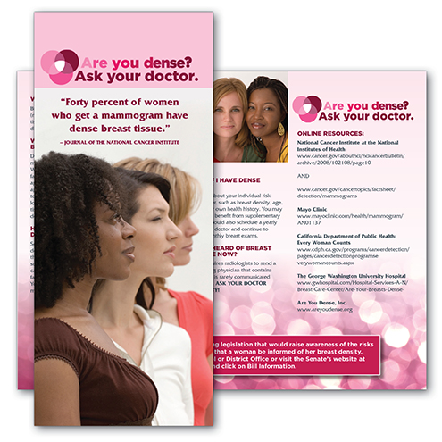 Dense Breast Healthcare Advocacy Campaign