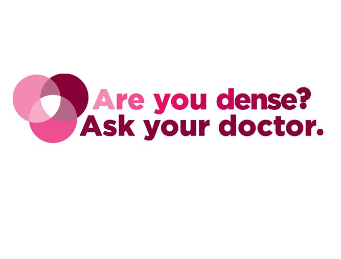 Dense Breast Healthcare Advocacy Campaign logo