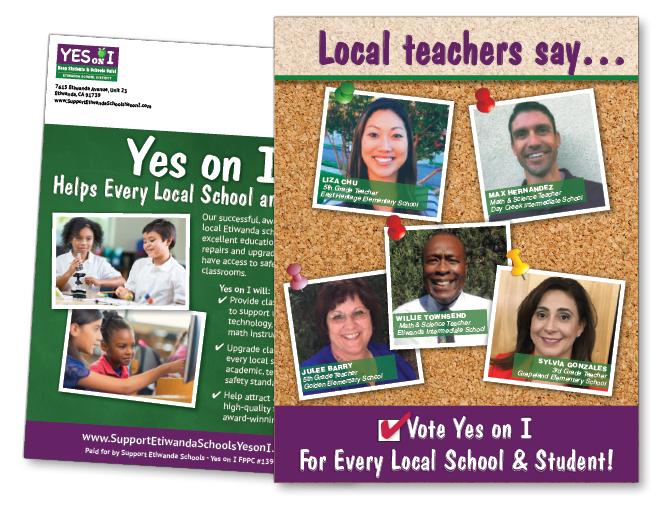 Local ballot measure for Etiwanda, California