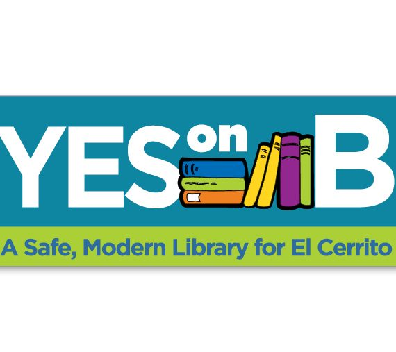 Yes on B logo