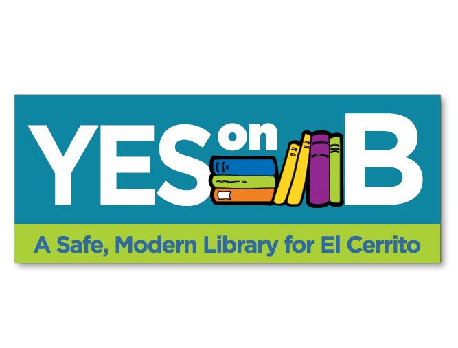 Yes on B logo